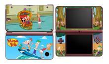 Phineas and Ferb 367 Vinyl Skin Sticker Protector for Nintendo DSI XL LL for NDSI XL LL skins Stickers