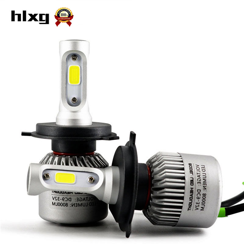 Super Bright All in One COB Auto Car Headlights H7 LED H8 H11 Single Beam 72W 8000lm 12V 6500K Front Bulb Automobiles Headlamp<br><br>Aliexpress