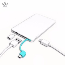 PIAGOLD Portable Mini Ulter Slim Credit Card Wallet Size Power Bank 5000mAh 8.7MM Cell Phone Travel Charger External Battery(China)