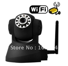 Free shipping, Wireless IP Camera webcam Web Camera Wifi Network IR NightVision P/T Rotation manufacturer