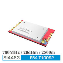 2pcs E54-T100S2 780MHz Internet of Things ISM band UART RF transceiver module  with antenna