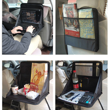 Auto Car Dining Table Travel Car Laptop Holder Tray Bag Mount Back Seat Food Table Work Desk Organizer