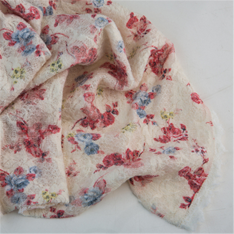 Fashion Newborn Baby Photography Props Floral Wrap Blanket Decorative Baby Shooting Flower Mat Retro Infant Photo Accessories 20