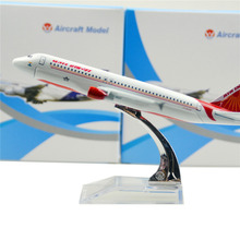 India  Airlines Airbus 320 16cm airplane child Birthday gift plane models toys Free Shipwping Christmas gift