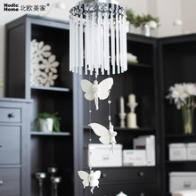 New E14 Chandelier Lustre Angel K9 Crystal Chandeliers Lighting Led Fixture Small Clear Crystal Lustre Lamp Lustres De Cristal(China)