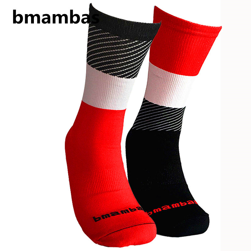2017-bmambas-Men-Sport-Socks-Bicycle-Cycling-Socks-Running-Outdoor-Socks-Compression-socks-Calcetines-Ciclismo