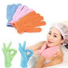 Hot 2016 New Arrival Moisturizing Spa Bathwater Scrubbing Bath Exfoliating Gloves For showering M01931