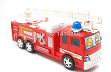 Children's Vehicles Toys Mini FIREMAN Toy Fire Truck Car Boy Educational Toy Christmas Birthday Gifts