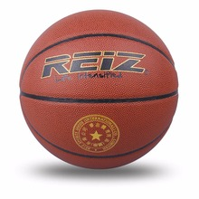 Outdoor Basketball PU Leather Basketball 6# Non-slip Basketball Wear-resistant Basketball Ball Basquete With Free Gift Net Needl(China)