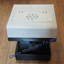 Coffee Printer Milktea Printing Machine with WIFI Flatbed Printer For printing Cake Dessert
