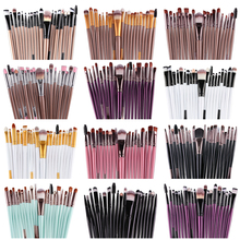 MAANGE 15/20Pcs Eye Shadow Foundation Eyebrow Eyelash Lip Brush Makeup Brushes Cosmetic Make Up Eye Brush Tool Set Free Shipping
