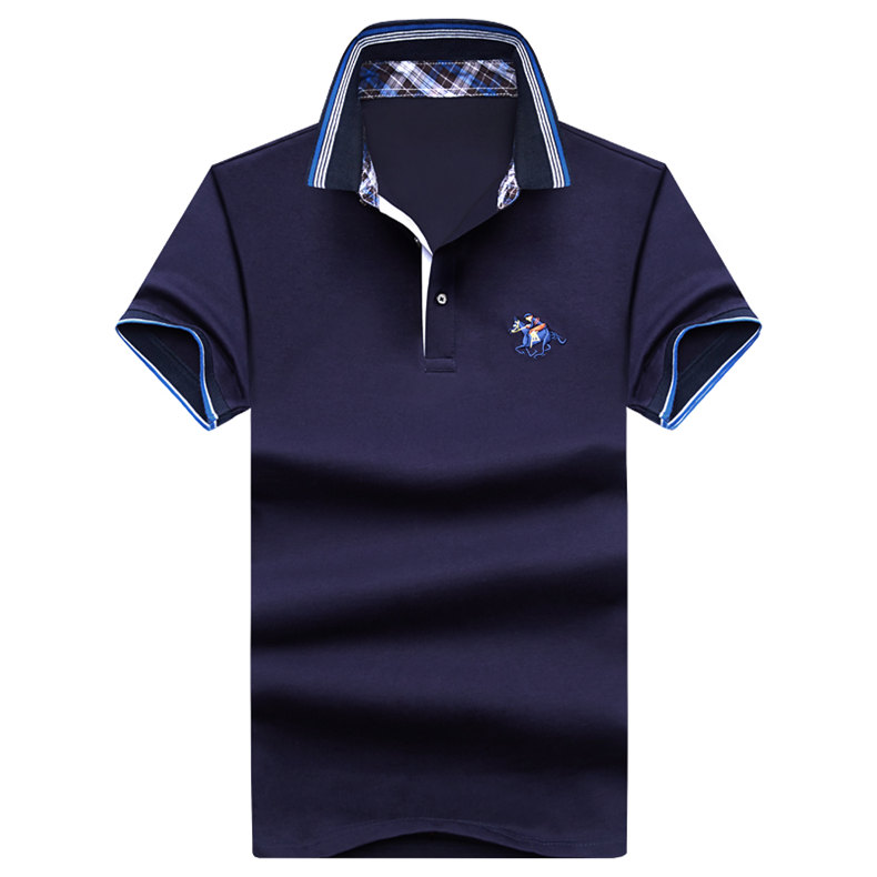 9Color Horse men quality cotton summer brand short golf riding man s male clothing 4XL large size Muls 2017 new arrival-01