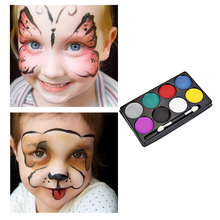 Fashion Flash Tattoo Face Body Paint Oil Painting Art Non-toxic Water Paint Oil Halloween Party Makeup Face Painting Set