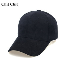 Chit Chit 2017 Baseball Cap Autumn and Winter Female Corduroy Cap Baseball Caps