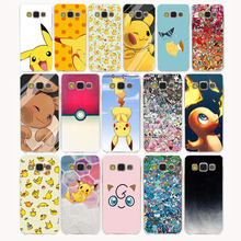 73G Pokemons cute  Pocket  Hard Case Cover for Samsung Galaxy S6 S7 S8 edge Plus S2 S3 S4 S5 Mini case cover
