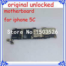 original logic board for iphone 5C unlock motherboard good working mainboard replacement 16GB IOS system main board(China)