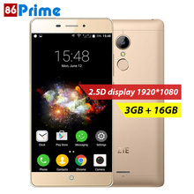 ZTE v5 pro N940SC Mobile Phone 5.5 Inch 2.5D 3GB RAM 16GB ROM Android 5.1 Cell Phone Fingerprint ID 13MP Camera Smartphone(China)