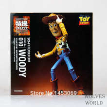 Sci-Fi Revoltech NO. 010 Toy Story Woody PVC Action Figure Collectible Toy 16cm