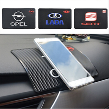 Car Phone Key GPS Holder Anti Slip Mat Dashboard Sticky Pad Car Non-Slip Mat Holder For GPS Phone Accessories For Opel Lada Seat