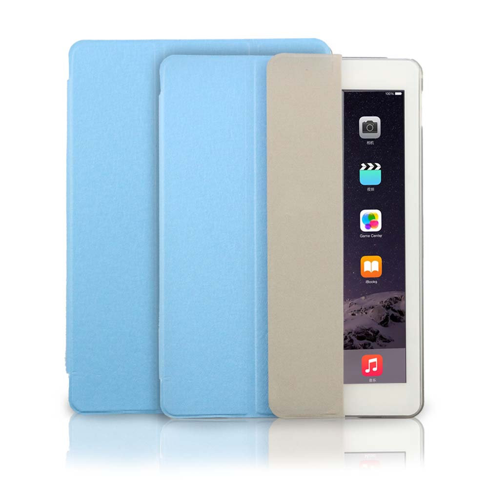 Smart Cover  for Apple ipad Air 2/ for ipad 6 Tablets Case Magnetic magnetic wake sleep leather  Stand free shipping<br><br>Aliexpress