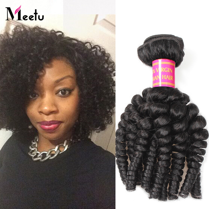 3Bundles Brazilian Virgin Bouncy Curly Hair Weaves Soft Virgin Human Hair 100% Unprocessed Brazilian Bouncy Curly Hair Weaving<br><br>Aliexpress