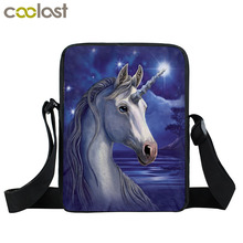 Buy Anime Unicorn / Rainbow Pony Messenger Bag Cartoon Crazy Horse Children Shoulder Bag Kids Book Bags Mini Crossbody Bags for $8.26 in AliExpress store