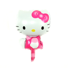 Brand new kitty Baby Shower Foil Balloons Baby Boy Girl Birthday Party Decorations Cute Baby Shower Balloons 40cm 2PCs