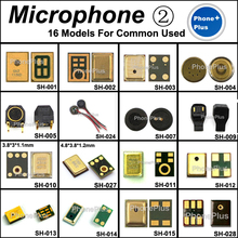 16 Models 32PCS Microphone Mic Inner Receiver Repair Part For Most Brand Cellphone Common Universal Compatible(China)