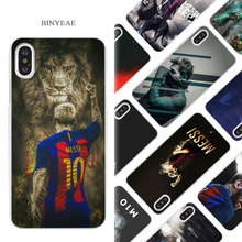 Buy BINYEAE Lionel Messi Hard White Phone Case Cover Coque Shell iPhone X 6 6S 7 8 Plus 5 5S SE 4 4S 5C for $1.49 in AliExpress store