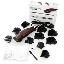 Hair Clipper for Family Use 10 shaving combs 3mm-25mm Hair Trimmer Steel Cutter 220V Hair Cutting Machine