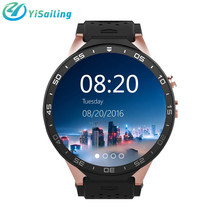 KW88 Smart Watch 3G WiFi Android 5.1 Bluetooth SmartWatch MTK6580 Quad Core 512MB/4GB GPS Google Play 2.0mp for Android iOS