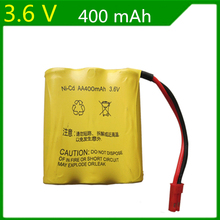 Genuine 3.6V 400mAh Ni-Cd rechargeable batteries huanqi 545 607 665 661 635 remote control car battery(China)