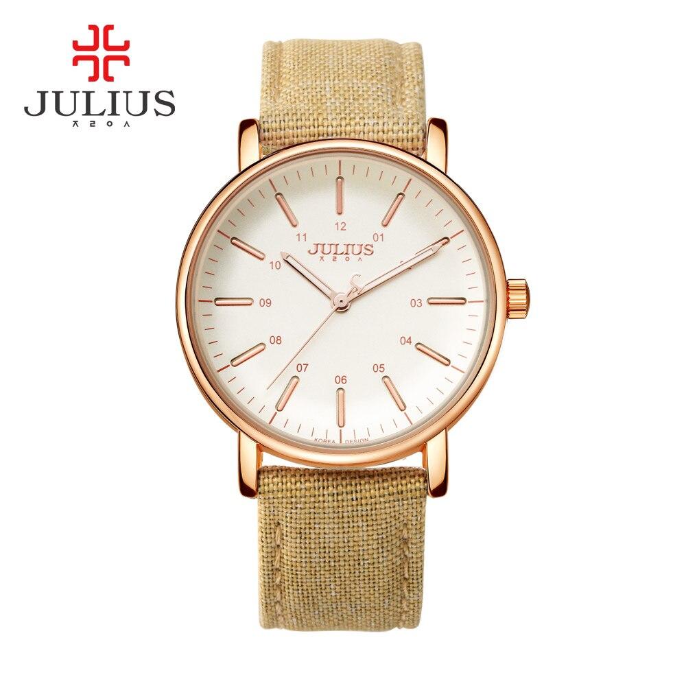 Julius Brand Simple Designer Watches Women Quartz Bracelet Gold Watches Ladies Leather Wristwatch Clock JA-910 relogio feminino<br><br>Aliexpress
