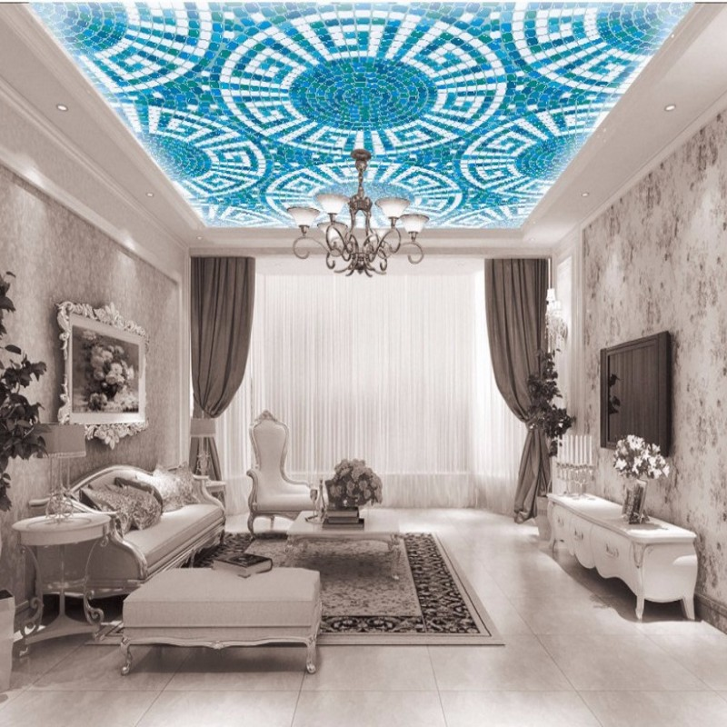 Free Shipping high quality 3D fashion hit color pattern geometric arrangement floor painting bedroom non-slip floor wallpaper<br>