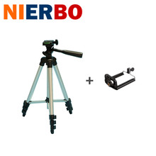 Universal Portable Tripod for Camera Phone with Holder Phone Clip Flexible Camera Accessories Travel Outdoor Photographic Selfie