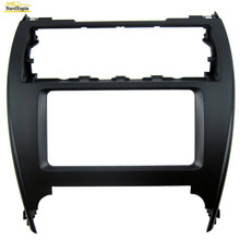 NAVITOPIA 202*102MM Car Radio Fascia for Toyota Camry Dash Mount Kit Adapter Trim Facia Panel Surrounded Frame Dashboard Panel(China)