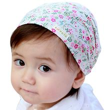 Stylish Cotton Kids Headband Head Scarf Hair Fashion Floral Bandanas scarf