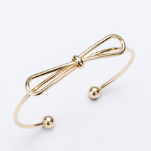 Cute open girls bangles rose gold/silver color zinc alloy copper balls women bangle fashion hand jewelry MDJB301