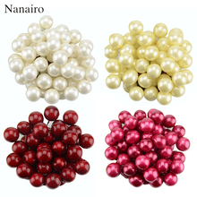20pcs / lot Mini Plastic Fake Small Berries Artificial Flower Fruit Stamens Cherry Pearl Wedding DIY Gift Box Decorated Wreaths(China)