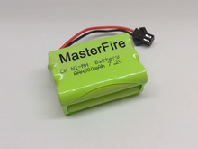 MasterFire 5PACK/LOT Brand New 7.2V AAA 800mAh Ni-Mh Battery Rechargeable Batteries Pack Free Shipping(China)