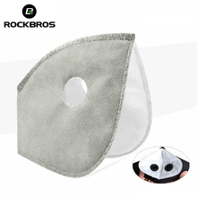 ROCKBROS Filter For Masks MTB Bike Bicycle Cycle Anti-Dust Face Mask Replacement With Active Carbon Filter Good Protector