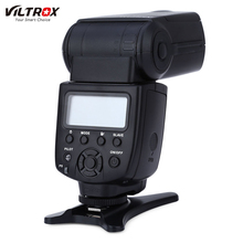 VILTROX JY-680A Universal LCD On-camera Flash Speedlite Light for Digital Camera with Hot Shoe Mount for Canon Nikon Sony Pentax