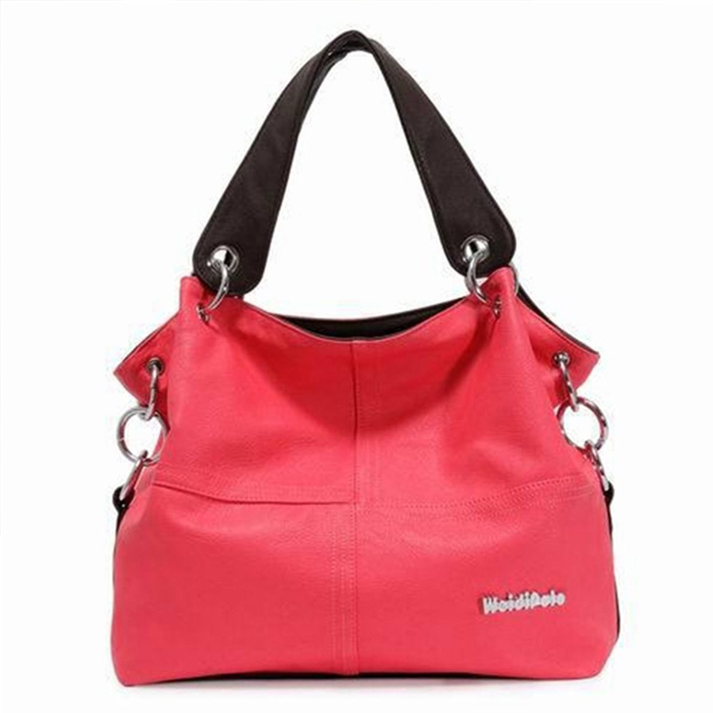 2017 Fashion Patchwork Women Leather Satchel Handbag Shoulder Tote Messenger Crossbody Bag Vintage Casual Shoulder Bags P1106<br><br>Aliexpress