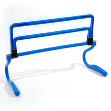 Soccer Hurdle Training Barrier Frame Football Mini Hurdle Removeable For Jump Running Sensitive Soccer Speed Training Agility(China)