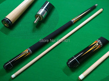Free shipping hotselling maple 14 stainless steel Billiard&Pool Cue Stick 12.8MM cue tip Nine-ball Ball Arm cues billiard