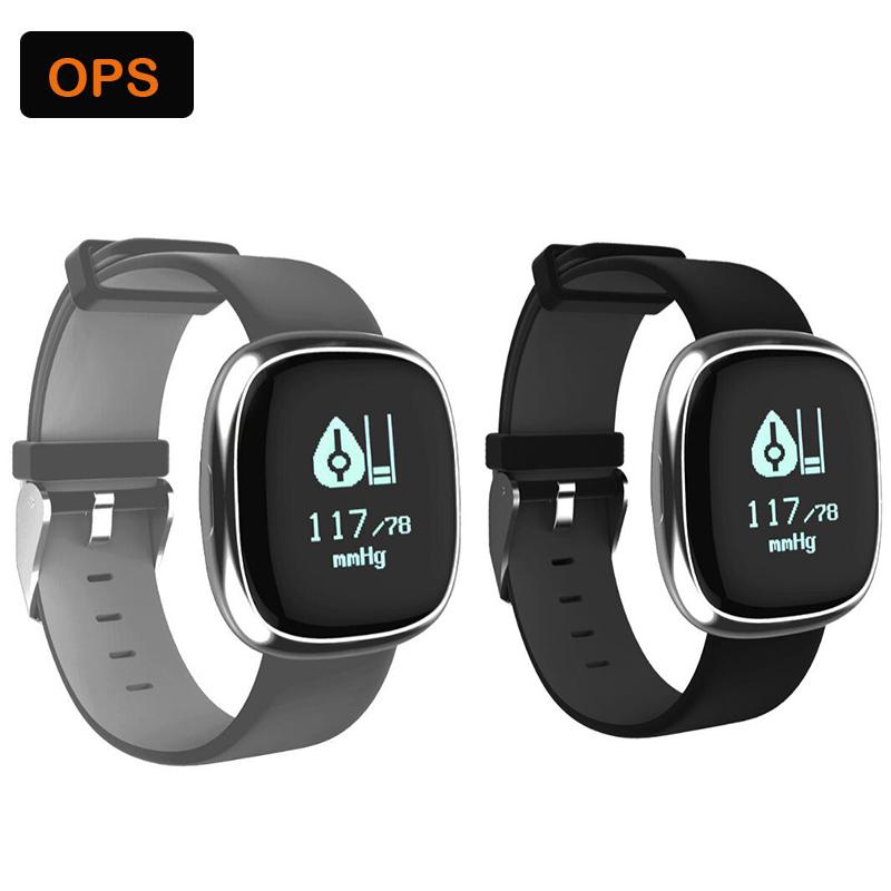 Waterproof Smart Bluetooth Heart rate Sport Sleep Tracker Wristband ,Bracelet&Intelligente beweging volgen voor De man en de vr 5