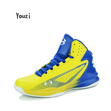 Men & Women Basketball Shoes Breathable Anti-Collision Technology Sneakers Leather High Quality Basket Athletic Boots Zapatillas(China)