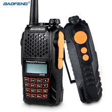 BAOFENG UV-6R Walkie Talkie VHF UHF Handheld Interphone with LCD Receiver Call Tone CB Radio DTMF Encode Emergency Alarm VOX