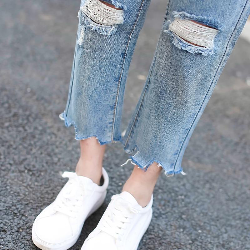 Ripped Boyfriend Jeans Women Plus Size Denim Jean Loose  Destressed Jeans Rock Vintage Destroyed PantsОдежда и ак�е��уары<br><br><br>Aliexpress