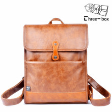 Fashion brand for men and women backpack mens leather business bag large women backpack male travel backpack mochila school bags